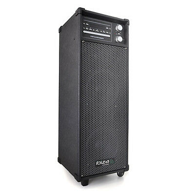 400W Mobile Dj Active Pa Speaker System Cd Dvd Player Combo Professional Audio
