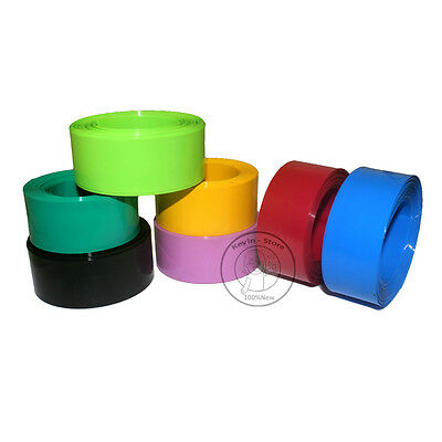 17mm-103mm PVC Heat Shrink Tubing Wrap Lipo Li-ion Ni-MH NiCd RC Battery Pack