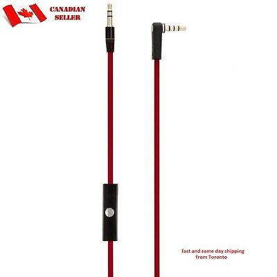 monster headphone Audio Cable with Control Talk Mic for Beats By Dr Dre Solo