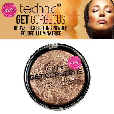 Technic Get Gorgeous Bronze Highlighting Poudre- Pressed Contour Bronzer