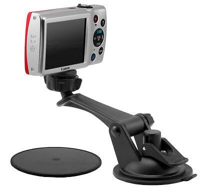 Suction Cup Windshield Mount Holder for cameras with tripod 1/4 20 thread CMP179
