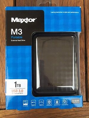 maxtor samsung m3 1tb 2 5 portable external hard drive. Black Bedroom Furniture Sets. Home Design Ideas