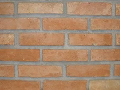 "ANTIQUE CLAY BRICKS VENEER WALLS FLOORS 8""x4""x1 natural clay sustainable product"