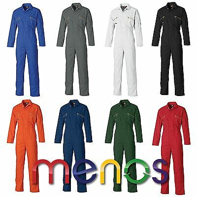 Dickies Gents Redhawk Zip Front Coverall - Boilersuit Mechanic Engineer Farmer