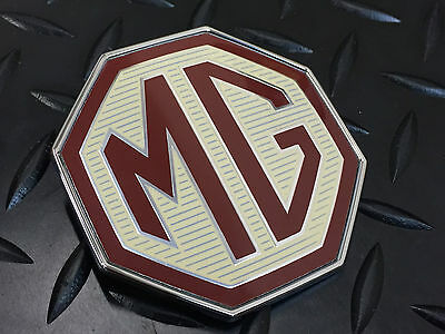 Mg Tf Front Bumper Badge. Genuine Mg Product Dab000160