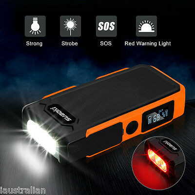 Nuovo20000mAh Car Jump Starter Pack LED Booster Charger Power Bank Multi Orange