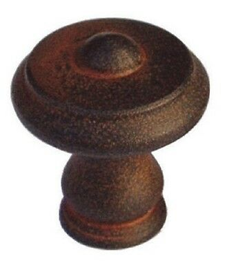 Furniture Knobs Furniture 043 Tür-knopf Antique Wrought Iron Rusty Ø 25-30-35 Mm