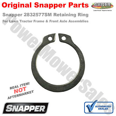 Snapper Replacement Part # 2832577SM ring ret ext, #98 0.9