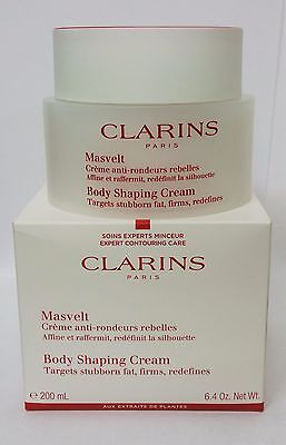 New & Boxed Clarins Body Shaping Cream 6.4oz/ 200Ml (Tester Box) 2018 Exp Date
