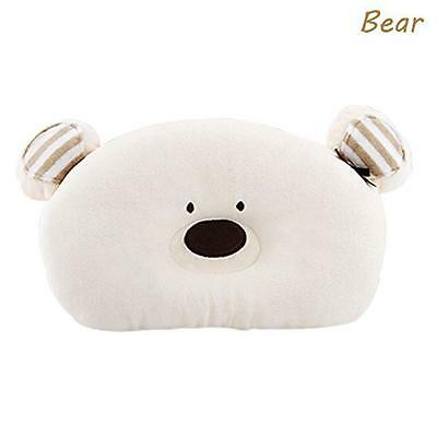 Merryshop Prevent Flat Head Toddle From Baby Head Support Pillow -Bear (Bear),