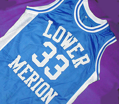 724fa69ab49 Kobe Bryant #33 Lower Merion High School Jersey Blue Sewn New Any Size