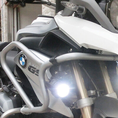 Universal Motorcycle LED Auxiliary Fog Light Driving Lamp For BMW R1200GS/ADV