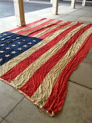 USA 38 Star United Stated Of America Flag, Antique Very Rare Flag 38 STARS Only!