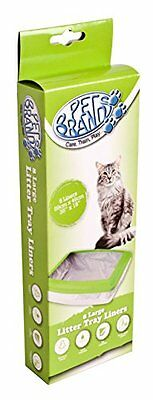 Pet Brands Cat Litter Liners, Pack of 8