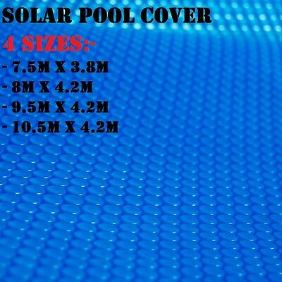 Solar Swimming Pool Cover Bubble Blanket Heater 400 Micron Isothermal - 4 SIZES