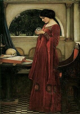 John William Waterhouse: The Crystal Ball. Art Print/Poster (108470)