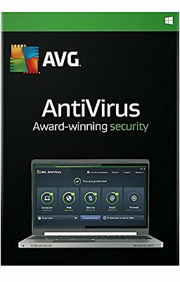 AVG ANTI VIRUS 2016 - 1 PC for 2 Year - DOWNLOAD ONLY