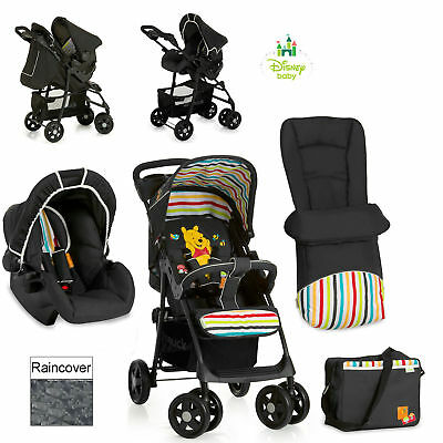 Hauck Disney Winnie the Pooh Tidy time Travel System shopper pushchair pram SET