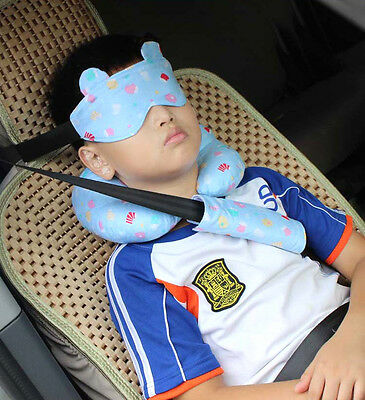 Car Safety Seat Sleep Positioner Infants  Baby Head Support  Fastening Belt Suit