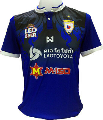 Authentic Lao Toyota FC Champion of Laos Football Soccer League Jersey Shirt