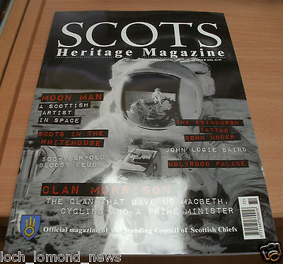 Scots Heritage magazine Summer 2016 Scottish artist in Space + Clan Morrison
