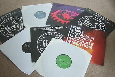 """8 x 12""""   FFRR Records Collection          HOUSE / OLD SKOOL!!"""