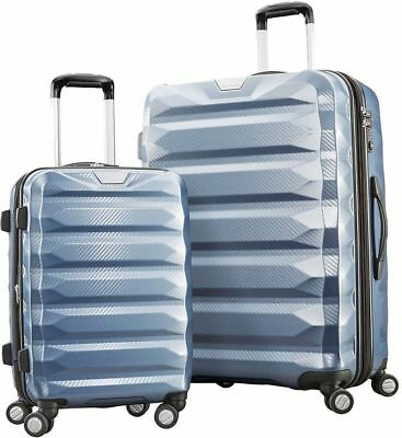"""Samsonite Flylite DLX Luggage Suitcase Bags 29"""" Upright Spinner 22"""" Carry on 2Pc"""