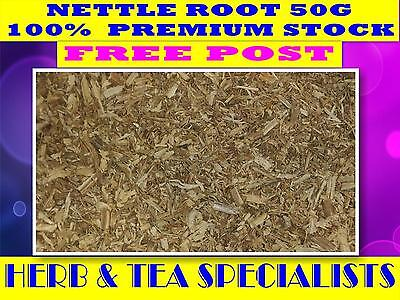 NETTLE ROOT 50G ☆ 100% PREMIUM STOCK Urtica dioica - WILDCRAFTED ☆ FREE POST