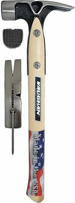 Vaughan VW20 Douglas Pattern 20 oz. Framing Hammer, Milled Face.