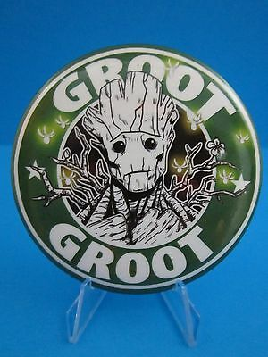 Guardians Of The Galaxy Groot Pinback Button  Marvel Comics ( Cool Pin )