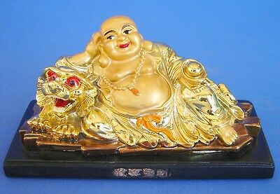 Golden Lying Down Buddha Statue