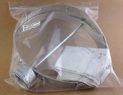 """New Old Stock Pek Inc. Airport Windsock Aluminum 10"""" Frame ONLY Ships FREE"""