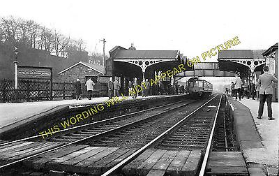 Bugsworth to Edale and Chapel-en-le-Frith. 3 Chinley Railway Station Photo