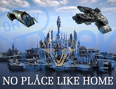 Stargate Atlantis No Place Like Home Magnet - More designs available!