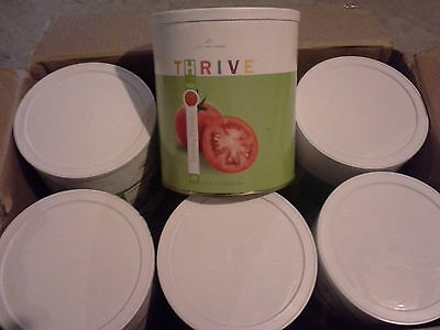 Six 10oz cans of Thrive Freeze Dried Tomato Powder!  *REDUCED PRICE*