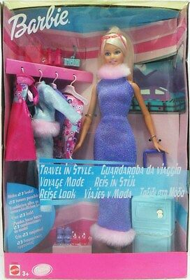 "MATTEL 55668 BARBIE - ""Guardaroba da viaggio """
