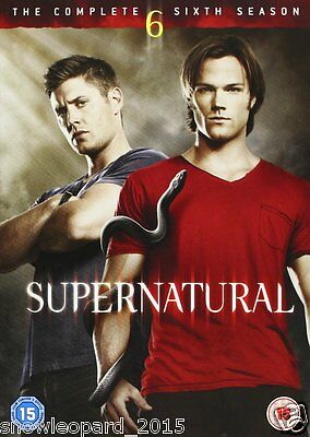Supernatural Complete Series 6 DVD Season New Sealed UK Original R2 6th Sixth