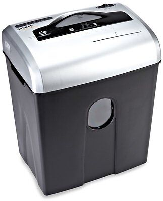 AmazonBasics 12-Sheet Cross-Cut Paper, CD, and Credit Card Shredder