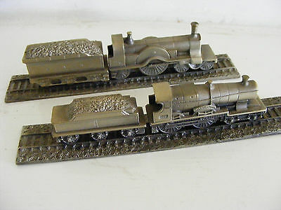 ROYAL HAMPSHIRE Pewter Miniature Trains GNR Loco1870 & City of Truro