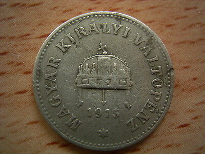 1915 Hungary 10  Filler Coin Collectable