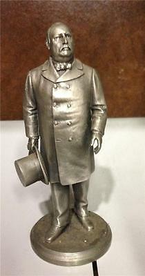 Us President Grover Cleveland Collectible Pewter Statue Lance Presidential