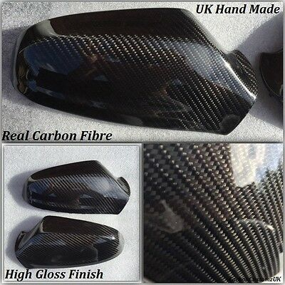 Vauxhall/Opel Astra H Real Carbon Fibre Mirror Covers 2004-2008 inc VXR Models.