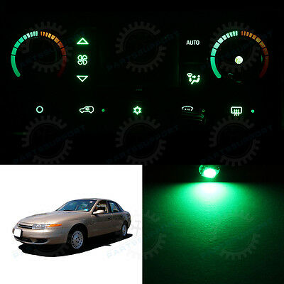 Green Climate Control AC Heater Temperature Knob LED Light Bulb for 01-02 L100