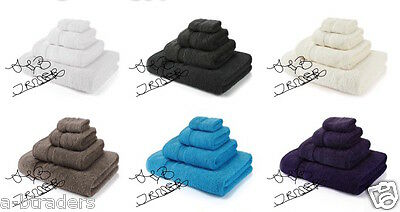 Egyptian Cotton Miami 600GSM Luxury Combed  Bath Towels Bath Sheets Hand Towels