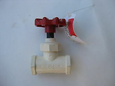 BRAND NEW King Brothers Inc SCC-0750-S 3/4-Inch Compression PXL CPVC Stop Valve
