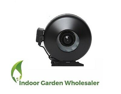 """6"""" 150Mm Centrifugal Fan Ventilation Exhaust Fan With Metal Blade And Casing"""