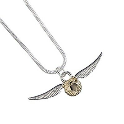 Harry Potter : GOLDEN SNITCH NECKLACE from The Carat Shop