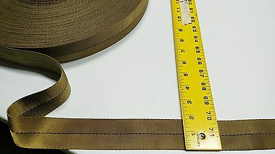 "1 3//4/"" Inch Military Spec Webbing Fabric Coyote 30/' Foot Roll Outdoor Camo #324"