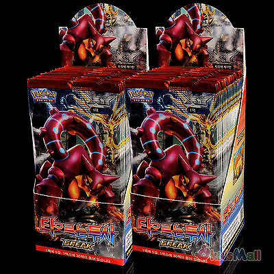 Pokemon karten XY Dampfkessel Bakunetsu no Tōshi 60 Booster 2 Box Display Korean