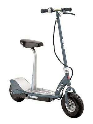 Razor 13116214 E300S Seated Electric Scooter, Gray